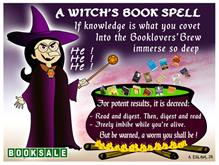 a witchs book spell